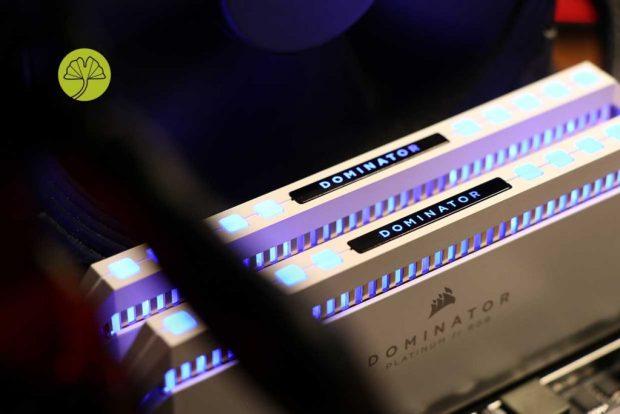 Dominator Platinum White RGB de Corsair