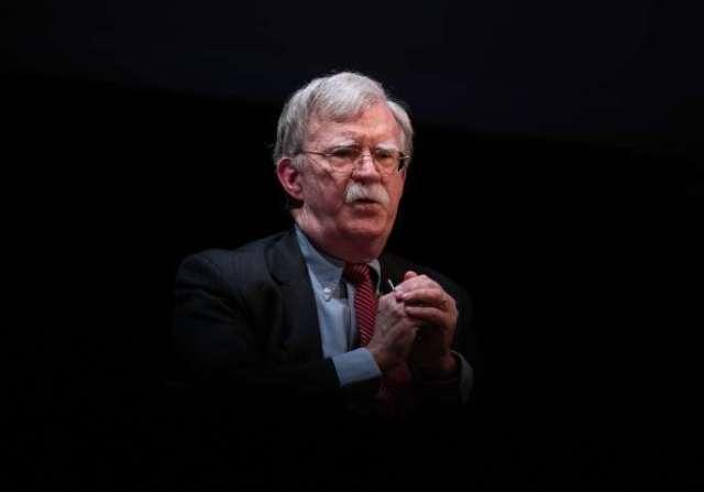 L'ex-conseiller àla sécurité nationale, John Bolton, le 17 février à Durham (Caroline du Nord).