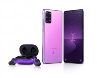 Samsung Galaxy S20+ 5G BTS limited edition and Galaxy Buds+ BTS limited edition