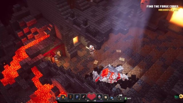 Fiery Forge Rune Entrance