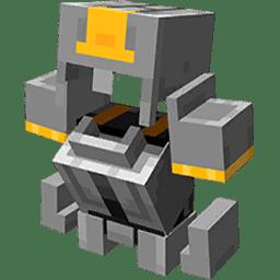 Minecraft Dungeons Full Metal Armor