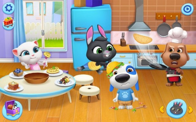 Outfit7 brings all talking characters into the My Talking Friends app