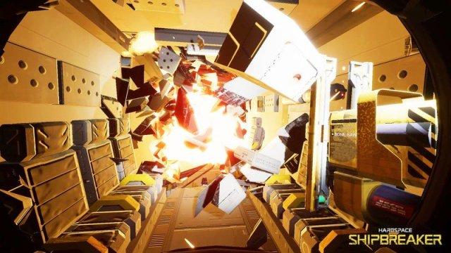 Hardspace Shipbreaker Explosion
