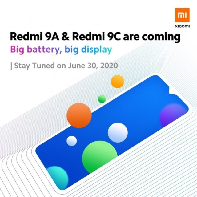 Redmi 9A and Redmi 9C to debut on June 30, images leak