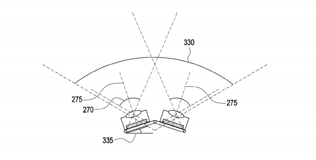 Samsung Smartphone Patent Six-Camera Tiltable Sensors