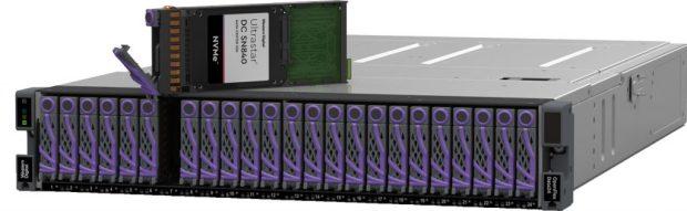 Plate-forme de stockage NVMe-oF OpenFlex Data24