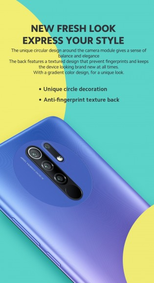 Redmi 9 comes with four cameras on the back