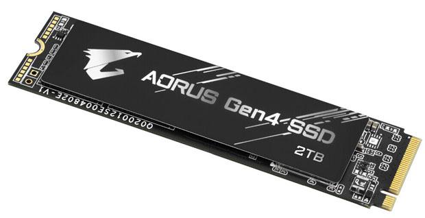 Aorus Gen 4 SSD de Gigabyte