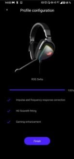 Headphone presets