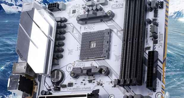 Carte mère CVN B550M Gaming Frozen V14 de Colorful