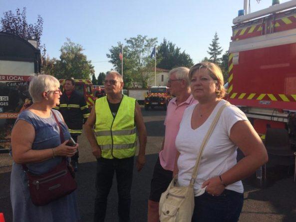 Au total, près de 50 personnes ont été évacuées des différents quartiers de Saint-Symphorien.