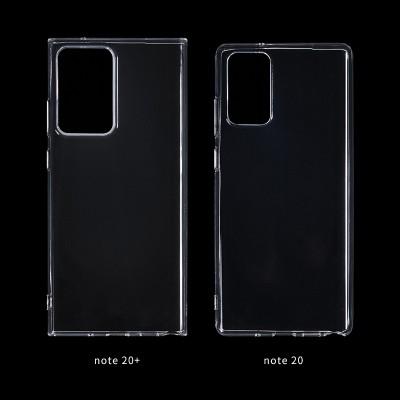 Size comparison: Galaxy Note20+ vs. Note20 cases