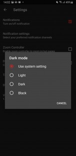 New dark mode and Unicode support
