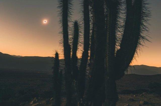 Samsung Galaxy S10 Plus Camera Solar Eclipse June 21 2020 Chile Ivan Castro La Higuera