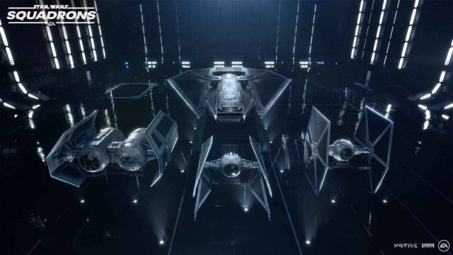 Star Wars Squadrons Imperial Hangar