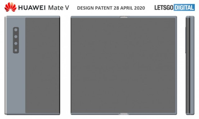 Huawei Mate V might be on the way, folding inwards