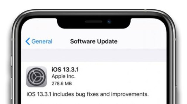 iPadOS and iOS 13.3.1 software update
