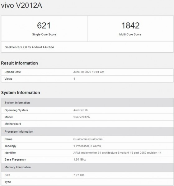 iQOO Z1x full specs and design revealed by TENAA