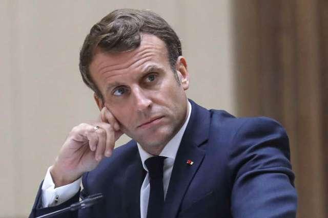 Emmanuel Macron, le 30 juin à Nouakchott en Mauritanie.