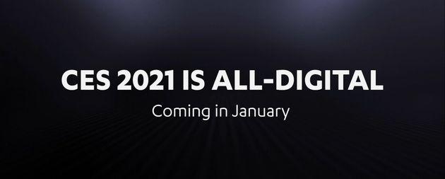 Le CES2021 sera entièrement virtuel
