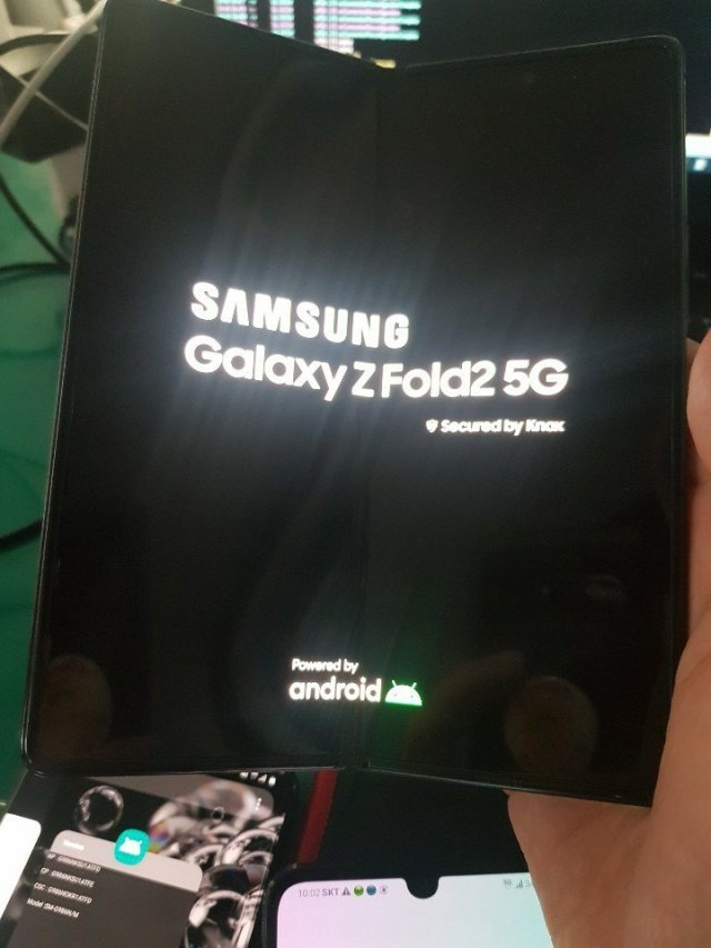 Samsung Galaxy Z Fold 2 5G Live Image Leak