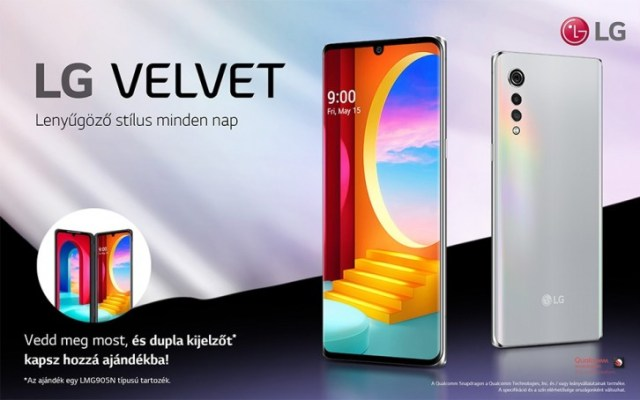 LG Velvet 4G (with S845) will be available in Europe this week
