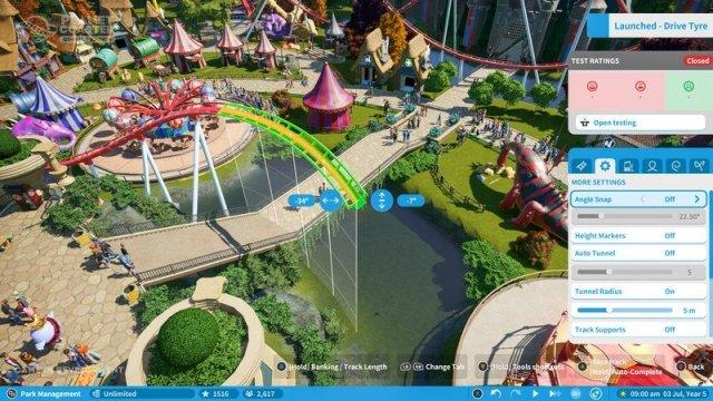 Planet Coaster July 2020