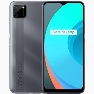 Realme C11 in Pepper Grey color