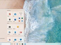 Hands-on with Windows 10 build 20161 showcasing the new Start menu