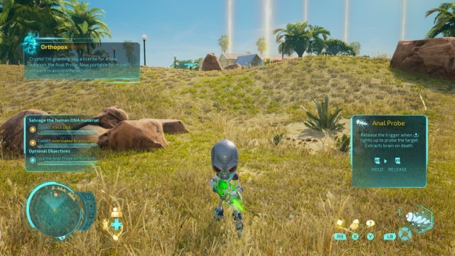 Destroy All Humans Anal Probe