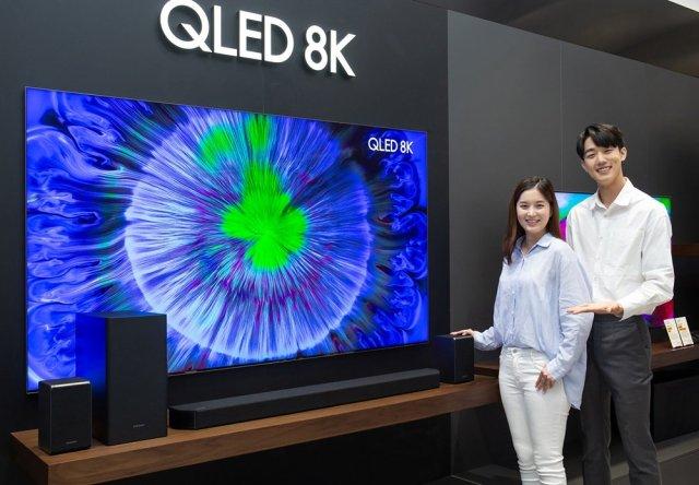 Samsung HW-Q950T 9.1.4 Channel Soundbar With QLED TV