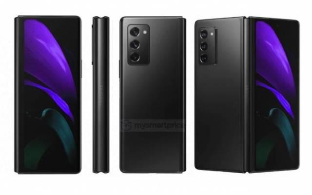 Samsung Galaxy Z Fold 2 Black