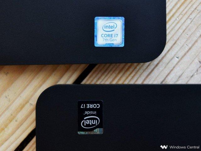 Intel stickers