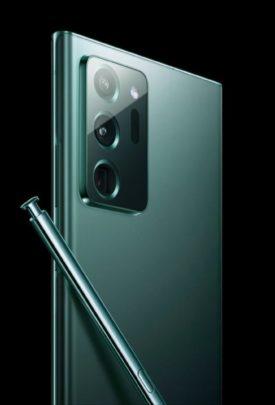 Samsung Galaxy Note 20 Ultra Mint Green
