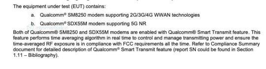 Samsung Galaxy Note 20 Ultra SM-N986U SM-N986U1 Snapdragon Processor FCC Certification