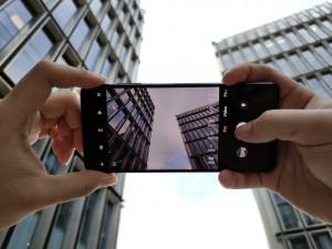Poco X3 taking a photo