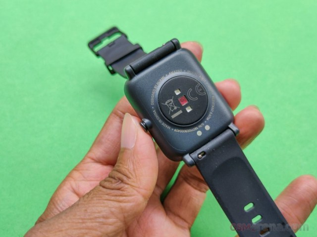 PPG Bio-Tracking Optical Heart Rate Sensor on Amazfit Bip S