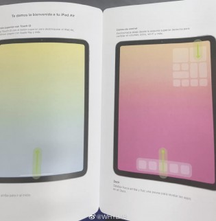 Shots of the user manual