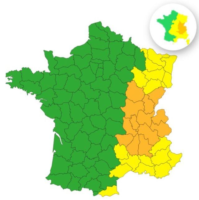 Canicule : 13 départements encore placés en vigilance orange