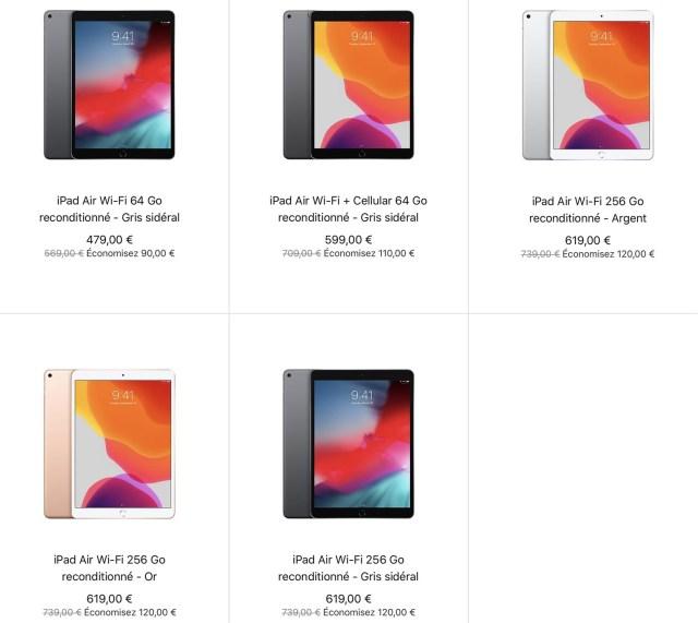 iPad Air 3 Refurb Store