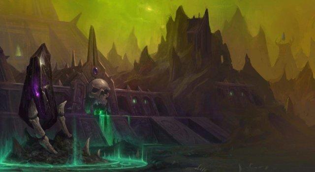 Wow Shadowlands Maldraxxus Concept