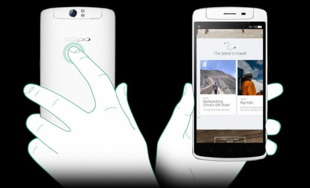 You could scroll through a web page using the O-Touch