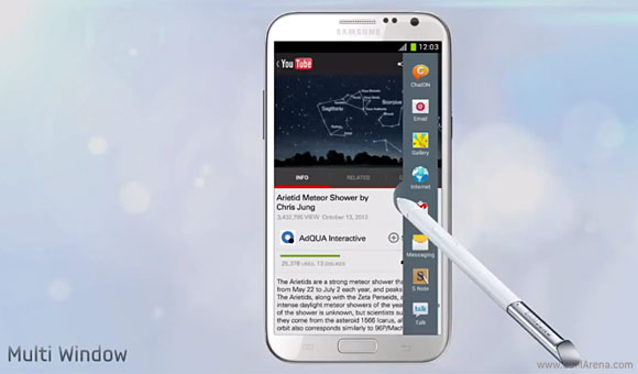 Flashback: the Samsung Galaxy Note II writes an even better story than the first one