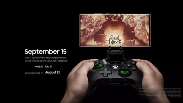 Galaxy Note20 is getting a gaming bundle and a special Xbox Game Pass app