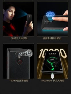 Gionee M30 key features