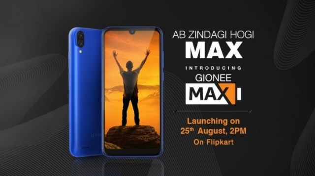 Gionee Max key specs and design confirmed ahead of August 25 launch