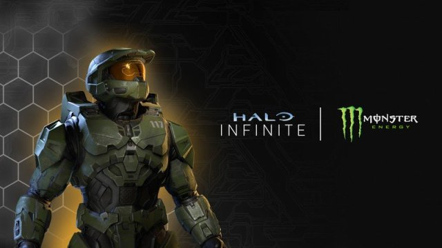 Halo Infinite x Monster Energy
