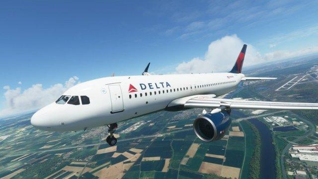 Microsoft Flight Simulator A320neo Delta