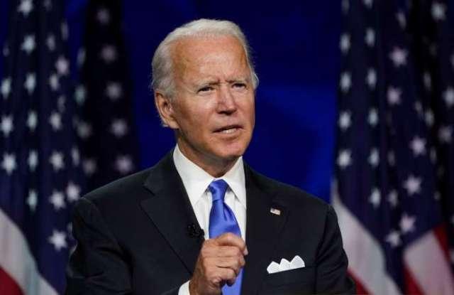 Joe Biden au Chase Center de Wilmington, dans le Delaware, le 20 août.