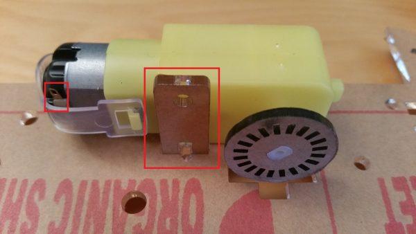 Raspberry Pi Robot Kit Motor Axis